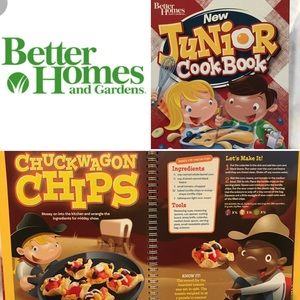 Better homes and gardens kids cookbook